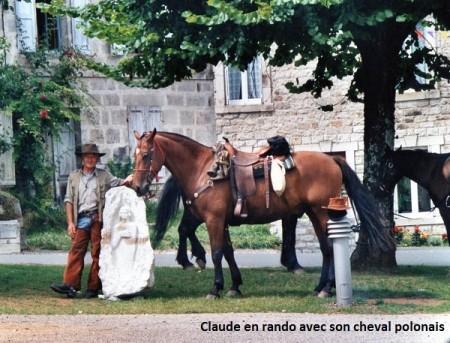 Claude barreau avec son polonais site