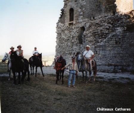 Claude barreau3 Châteaux cathares -site